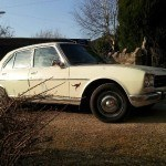 European Road Trip in Peugeot 504