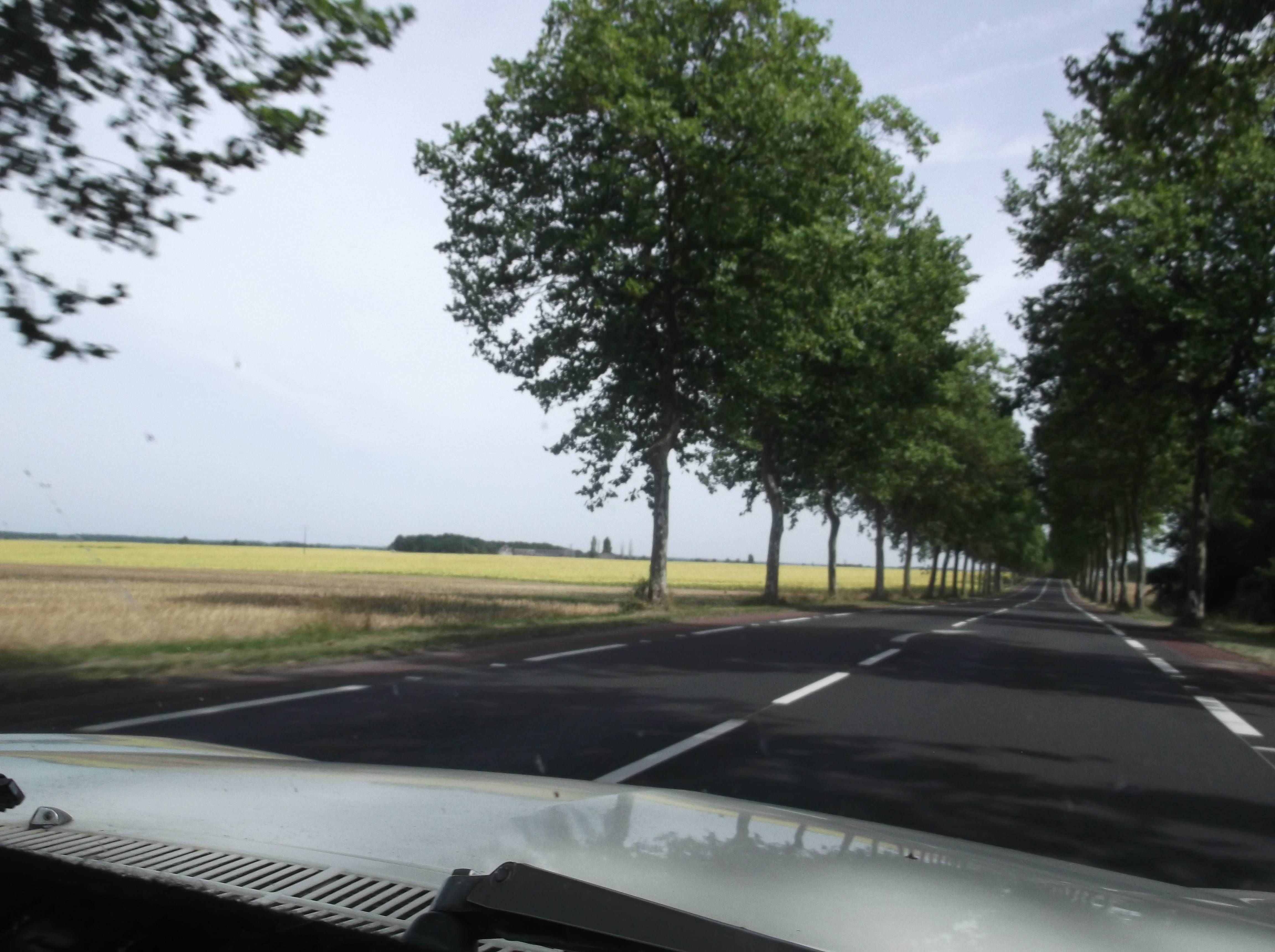 Driving to the Loire Valley