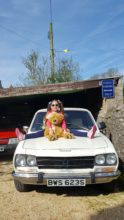 Bernie the Bear with Lola!