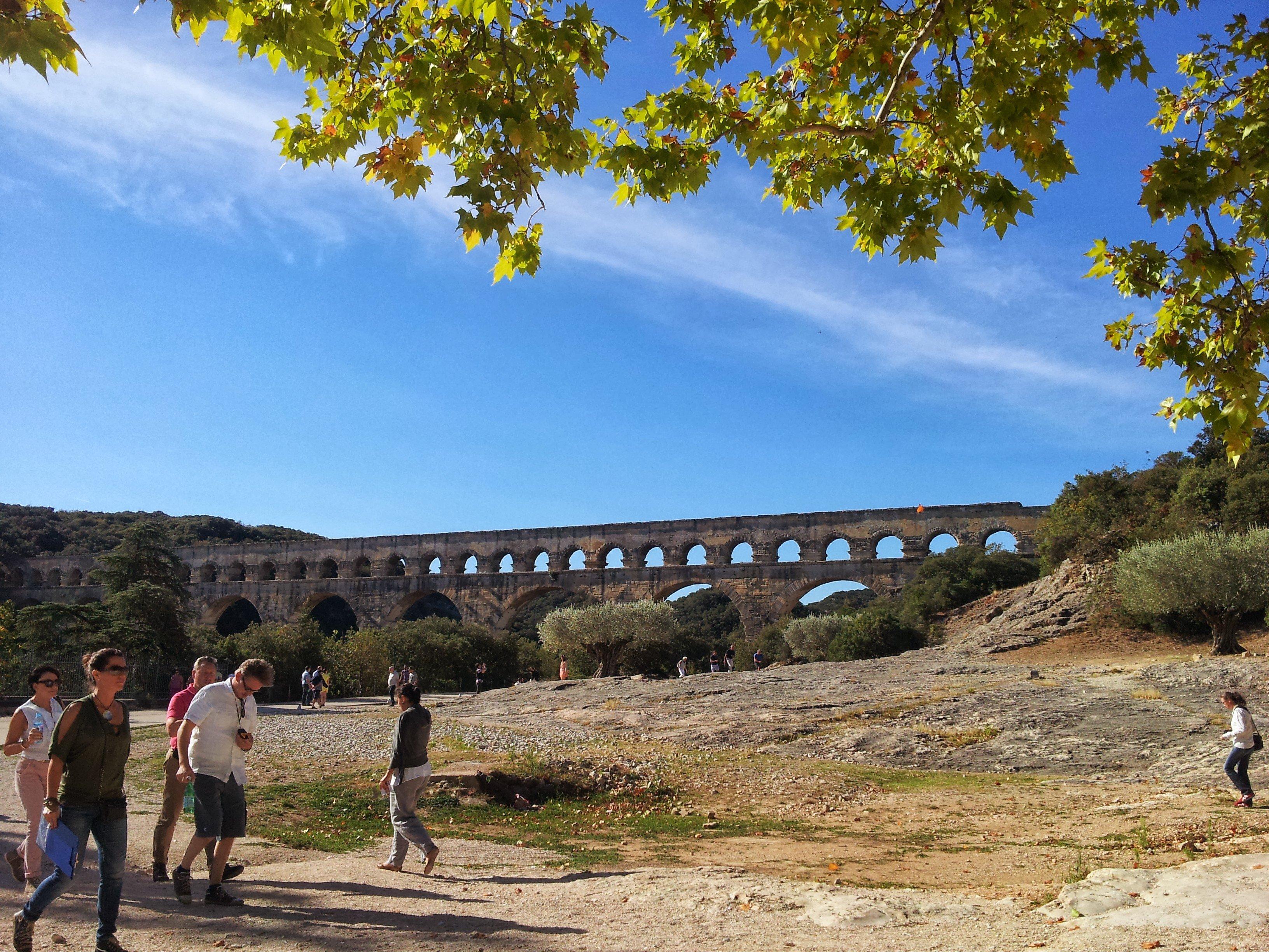 Visit Pont du Gard in September